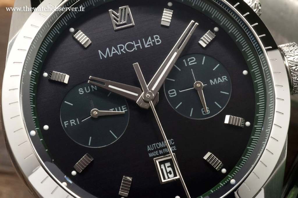 March LA.B Agenda Supra 41mm Mars : un cadran bicompax