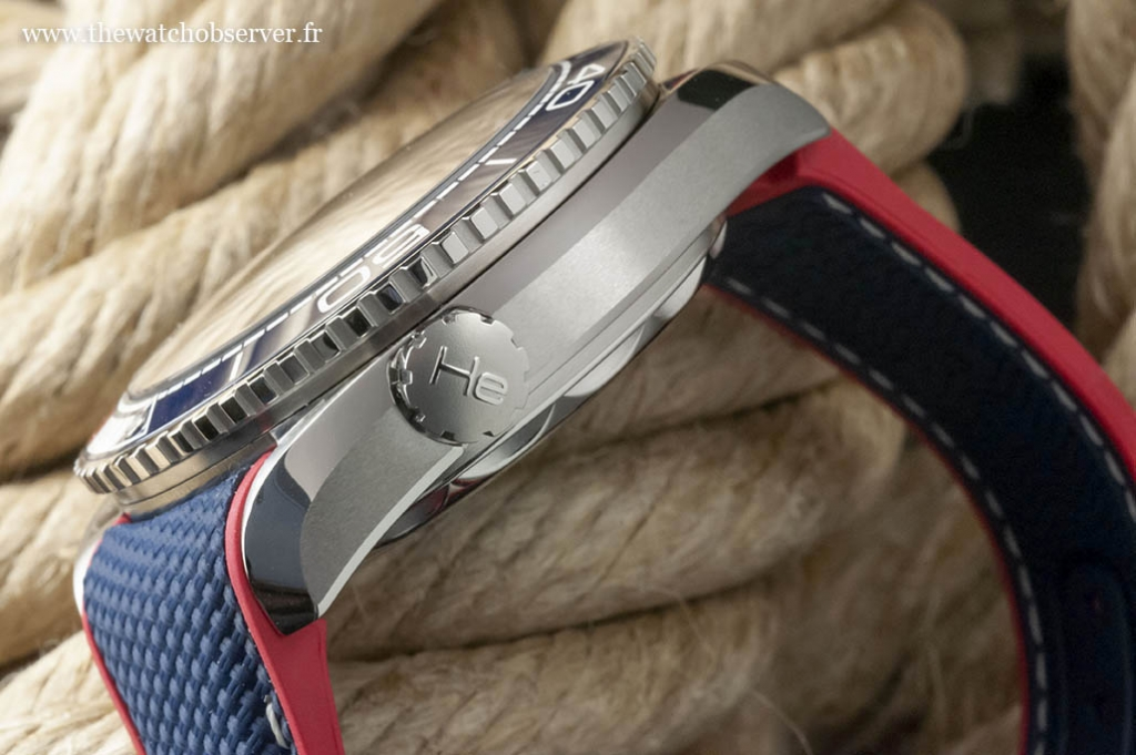 boitier Omega Seamaster Planet Ocean America's Cup 7
