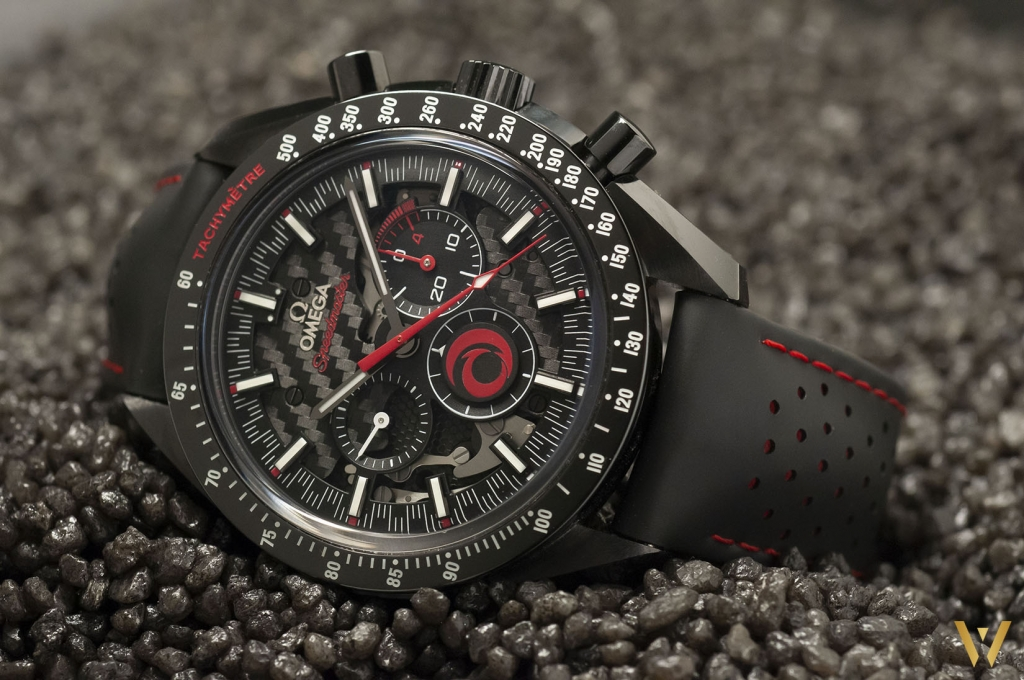 Chrono Omega Speedmaster Moonwatch Alinghi : test, prix, revue, photos Live