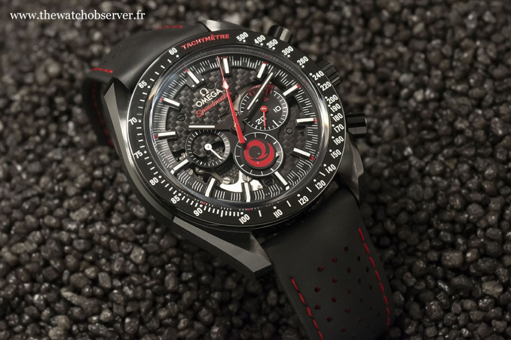 Montre chrono Omega Speedmaster Moonwatch Alinghi