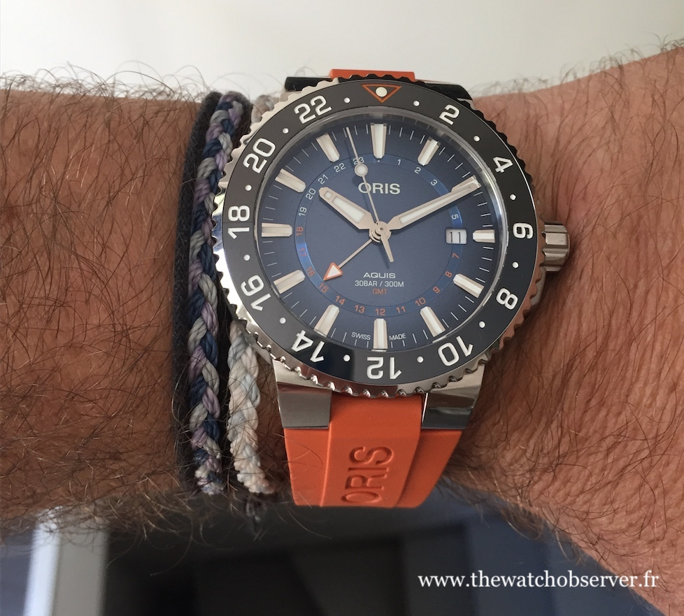 Photo au porter - Oris Carysfort Reef Limited Edition