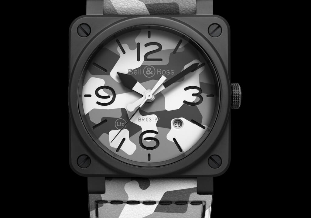 Montre militaire Bell & Ross BR 03-92 White Camo