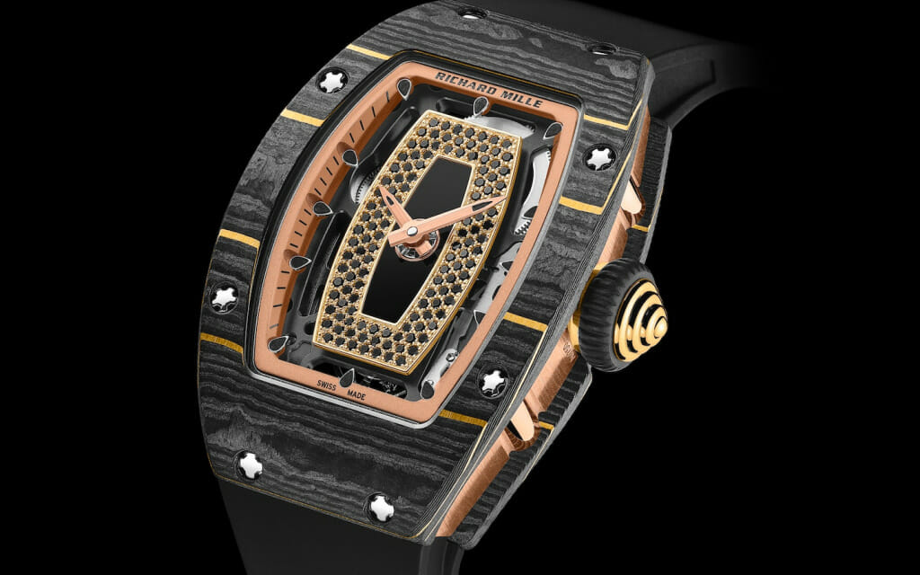 Richard Mille innove - Carbone TPT® Or