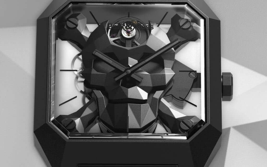 Photo macro - Bell & Ross BR 01 Cyber Skull