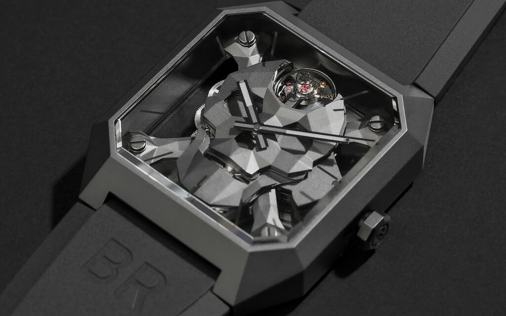 Montre d'exception - Bell and Ross BR 01 Cyber Skull
