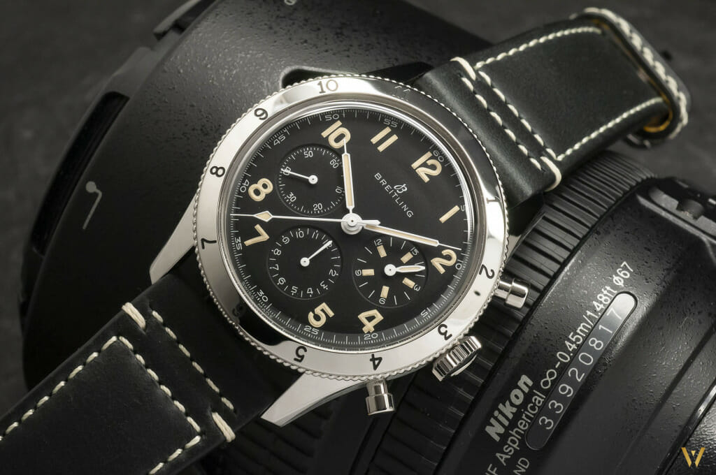 Montre vintage - Breitling AVI 765 1953 Re-Edition
