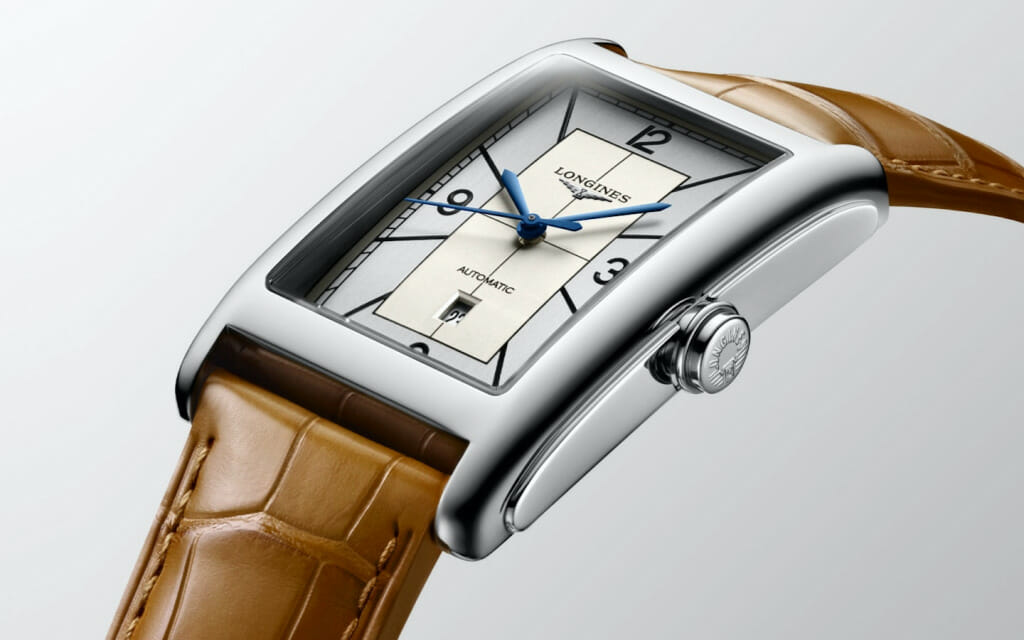 Montre rectangle - Longines DolceVita Automatic Sector Dial