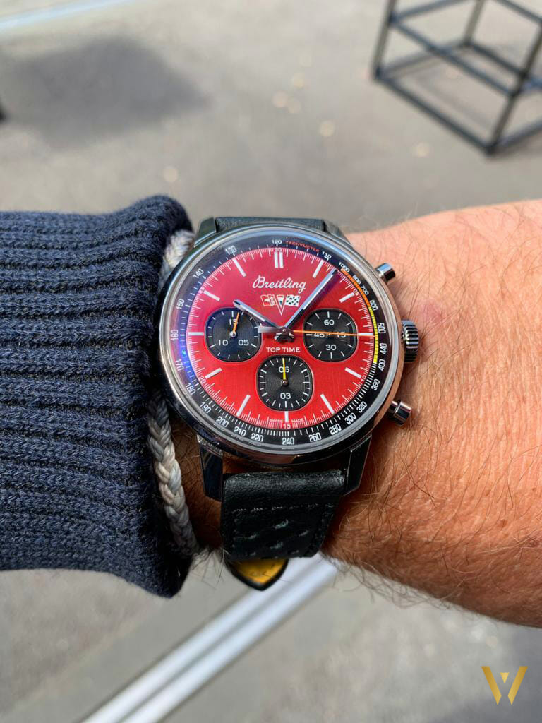 Breitling Top Time 2021 cadran rouge