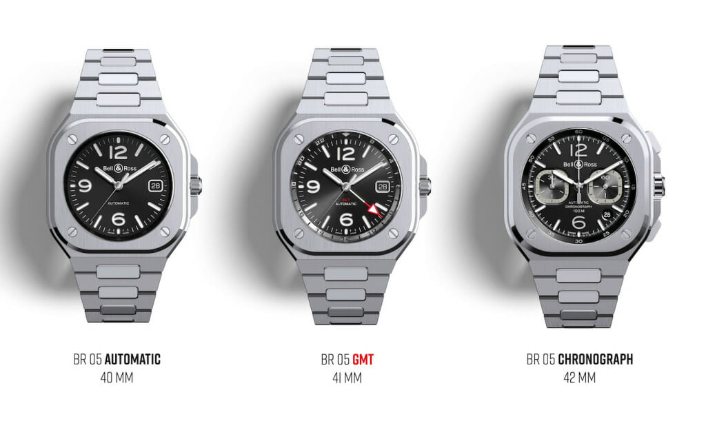 Collection Bell & Ross BR 05 (3 complications)